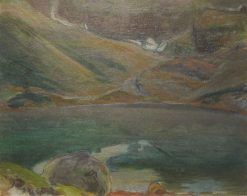 Black Pond in the Tatra Mountains | Wladyslaw Slewinski | Oil Painting