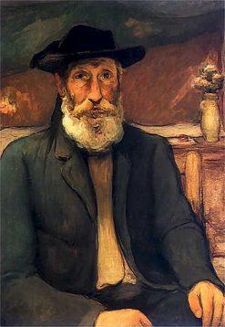 Self-portrait in Bretonian hat | Wladyslaw Slewinski | Oil Painting