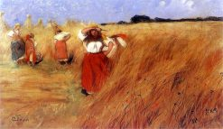 Haymakers | Wladyslaw Slewinski | Oil Painting