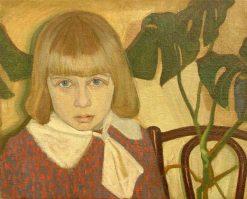 Girl | Wladyslaw Slewinski | Oil Painting