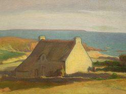Cottage at Le Pouldu | Wladyslaw Slewinski | Oil Painting