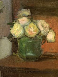 Roses in a Clay Pot | Wladyslaw Slewinski | Oil Painting