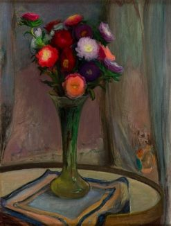 Flowers in a Vase | Wladyslaw Slewinski | Oil Painting