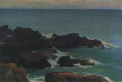 Seascape with Rocks | Wladyslaw Slewinski | Oil Painting