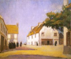 A Town in Brittany | Wladyslaw Slewinski | Oil Painting