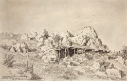 A Hut | Ivan Ivanovich Shishkin | Oil Painting