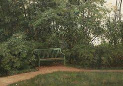 Bench in the Park | Ivan Ivanovich Shishkin | Oil Painting