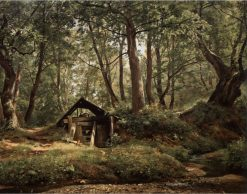 Sunny Day   Ivan Ivanovich Shishkin   Oil Painting