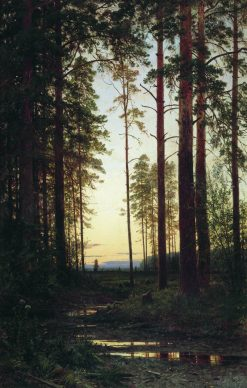 Twilight | Ivan Ivanovich Shishkin | Oil Painting