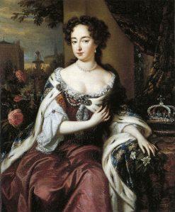 Queen Mary II   Jan Verkolje   Oil Painting