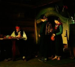 After the Fight | Carl Sundt-Hansen | Oil Painting