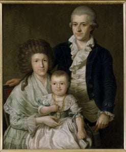 Consul F.L. Giers and his Family | Benjamin Patersen | Oil Painting
