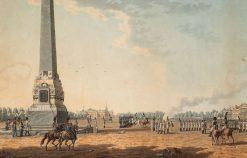 Field of Mars and the Rumyantsev Obelisk   Benjamin Patersen   Oil Painting