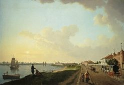 The Outskirts of St Petersburg near the Porcelain Factory | Benjamin Patersen | Oil Painting