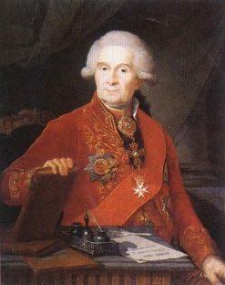 Portrait of Fyodor Kolokoltsov   Benjamin Patersen   Oil Painting