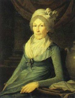 Portrait of Maria Kolokoltsova   Benjamin Patersen   Oil Painting