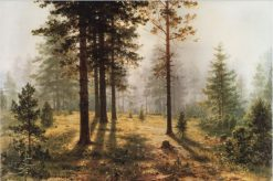 Fog in the Forest | Ivan Ivanovich Shishkin | Oil Painting