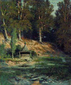 Chapel in the Woods | Ivan Ivanovich Shishkin | Oil Painting