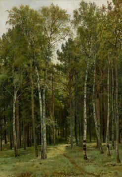 At the Dacha | Ivan Ivanovich Shishkin | Oil Painting
