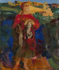 Peasant Woman | Filipp Andreevich Maliavin | Oil Painting