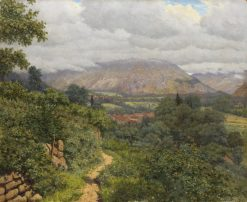Path in the Hills | Boris Bessonov | Oil Painting