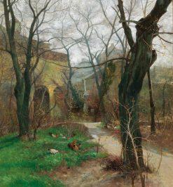 Early Spring | Adolf Kaufmann | Oil Painting