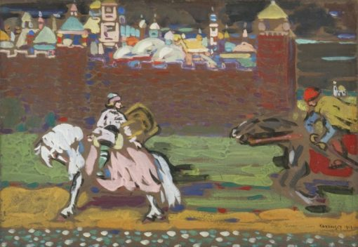 Crusaders | Wassily Kandinsky | Oil Painting