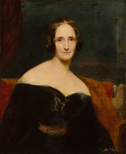 Mary Wollstonecraft Shelley | Richard Rothwell | Oil Painting
