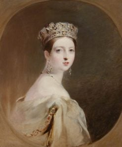 Queen Victoria (after Thomas Sully) | Richard Rothwell | Oil Painting