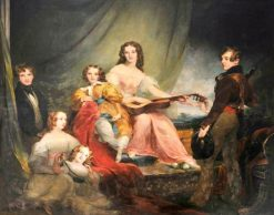 The Six Children of Charles John Herbert of Muckross Abbey