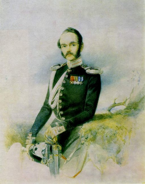 Portrait of a Man   Vladimir Hau   Oil Painting