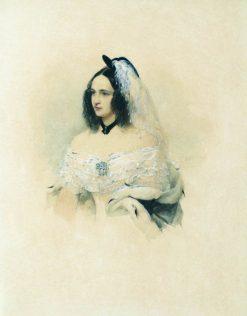 Natalia Pushkin   Vladimir Hau   Oil Painting