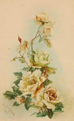 Yellow Roses | Paul De Longpre | Oil Painting