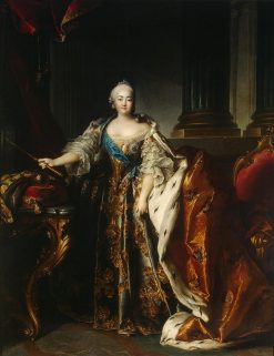 Elizabeth of Russia | Louis Tocque | Oil Painting