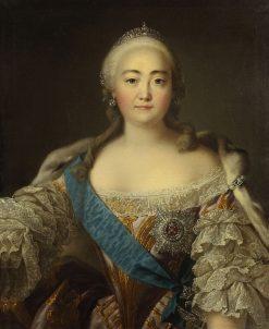 Elizabeth of Russia | Louis Tocque | Oil Painting