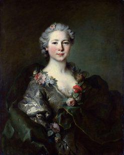 Portrait of Mademoiselle de Coislin | Louis Tocque | Oil Painting