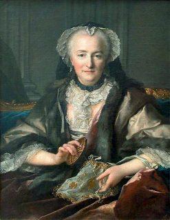 Madame Dange | Louis Tocque | Oil Painting