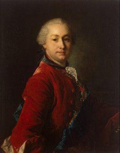 Portrait of Ivan Shuvalov | Louis Tocque | Oil Painting