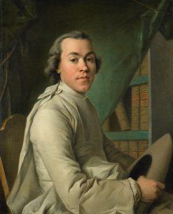 Portrait of an Abbe   Louis Tocque   Oil Painting
