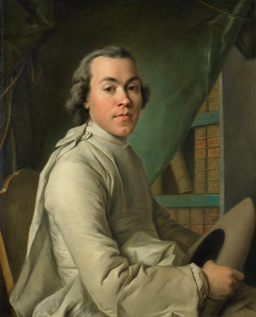 Portrait of an Abbe | Louis Tocque | Oil Painting