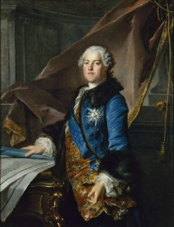 Portrait of Marquis de Marigny | Louis Tocque | Oil Painting