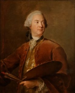 Portrait of Louis Tocque | Jean-Marc Nattier | Oil Painting