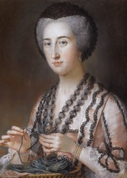 Portrait of Susanna Hoare | William Hoare | Oil Painting