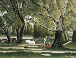 Summer | Henri Rousseau | Oil Painting