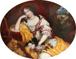 Louise-Rene?e de Penancoe?t de Ke?roualle | Henri Gascar | Oil Painting