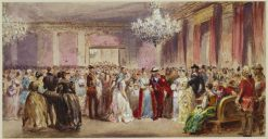 The Marlborough House fancy ball