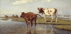 Cows on Saltholm | Theodor Philipsen | Oil Painting