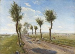 Country Road near Faarevejle | Theodor Philipsen | Oil Painting