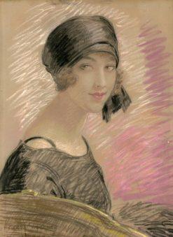 Portrait in Pastels | Gerda Wegener | Oil Painting