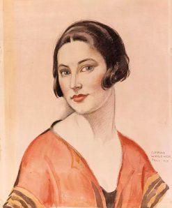 Portrait of a Woman | Gerda Wegener | Oil Painting